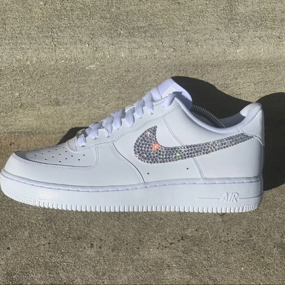leather air force ones